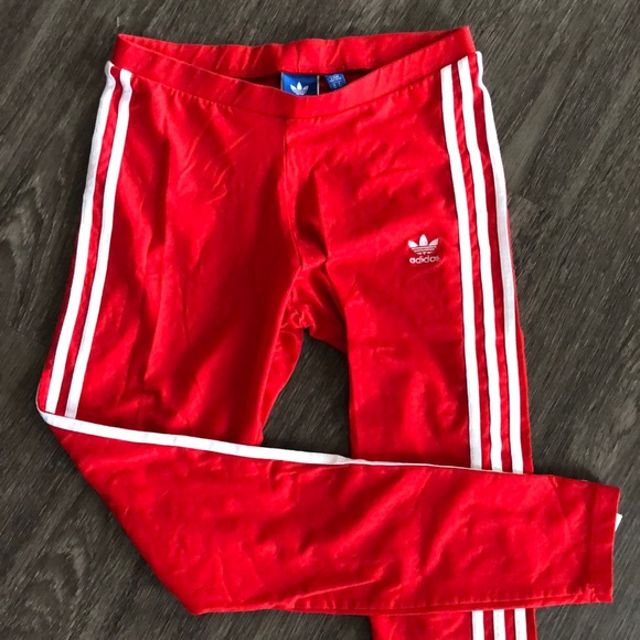 adidas Pants - Adidas 3 Stripe Leggings